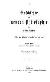 Immanuel Kant und seine Lehre: Band 1