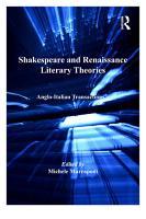 Shakespeare and Renaissance Literary Theories PDF