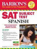 Barron's SAT Subject Test Spanish