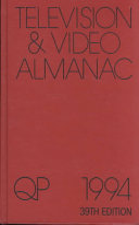 International Television & Video Almanac, 1993