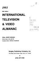 International Television   Video Almanac  1993 PDF