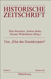 """Das """"Blut des Staatskörpers"""": Forschungen zur Finanzgeschichte der Frühen Neuzeit"""