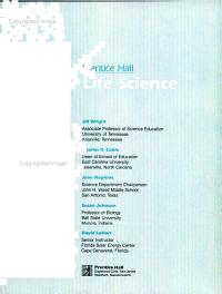 Prentice Hall Life Science Student Text