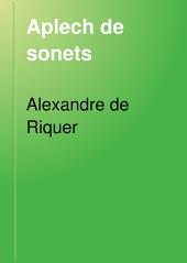 Aplech de sonets: Les cullites. Un poema d'amor