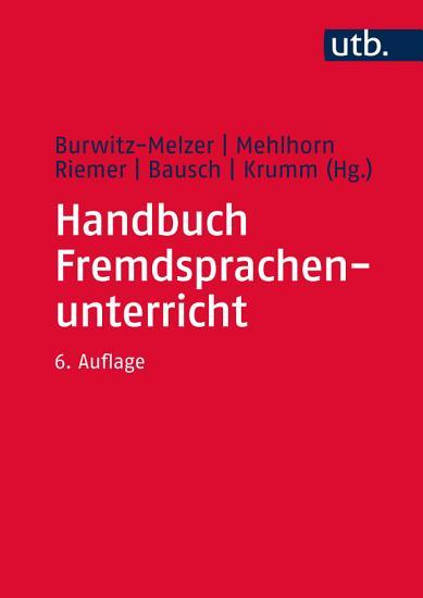 Handbuch Fremdsprachenunterricht PDF