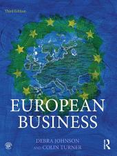 European Business: Edition 3