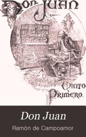 Don Juan: pequeño poema