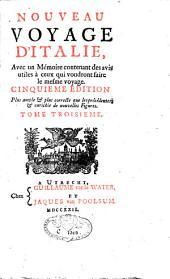 Voyage d'Italie: Volume3