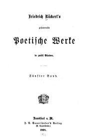Gesammelte poetische Werke: Lyrische Gedichte