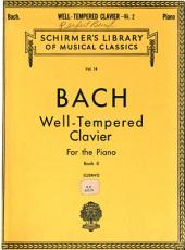 The well-tempered clavichord: forty-eight preludes and fugues, Volume 2