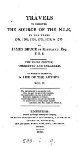 Travels to Discover the Source of the Nile: In the Years 1768, 1769, 1770, 1771, 1772, & 1773, Volume 2