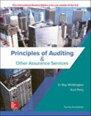 Principles of Auditing   Other Assurance Services Book