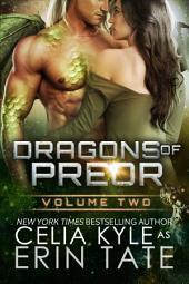 Dragons of Preor Volume Two: Scifi Alien Weredragon Romance, Books 4-7