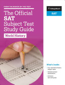 The Official SAT Subject Test in World History Study Guide Book