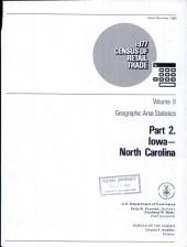 1977 Census of Retail Trade: Volume 2, Part 1