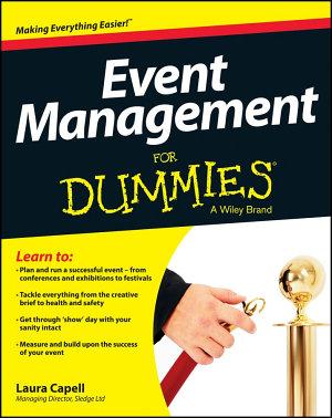 Event Management For Dummies PDF
