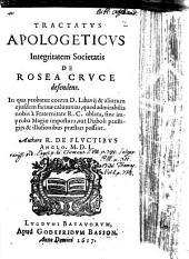 Tractatus Apologeticus Integritatem Societatis de Rosea Cruce defendens