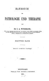 Handbuch der Pathologie und Therapie: Band 3,Ausgabe 2
