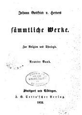 Johann Gottfried v. Herder's sämmtliche Werke in vierzig Bänden: Bände 9-10