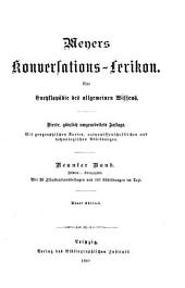 Meyers Konversations-Lexikon: Eine Encyklopädie des allgemeinen Wissens, Band 9