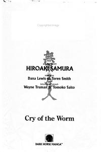 Cry of the Worm PDF