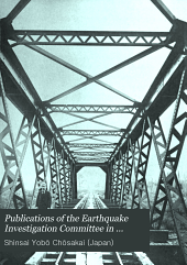 Publications of the Earthquake Investigation Committee in Foreign Languages: Issues 9-12