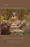 The Psychotherapy of Hope PDF