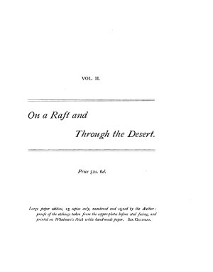 On a Raft  and Through the Desert PDF