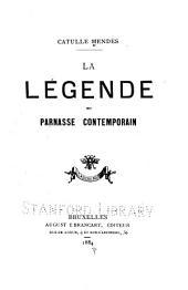 La légende du Parnasse contemporain