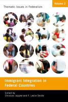 Immigrant Integration in Federal Countries PDF