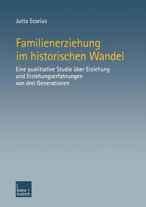 Familienerziehung im historischen Wandel PDF
