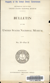 Catalogue of the Type and Figured Specimens of Fossils, Minerals, Rocks, and Ores in the Department of Geology, United States National Museum: Fossil vertebrates; fossil plants; minerals, rocks, and ores. 1907