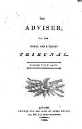 The Adviser: Volume 4