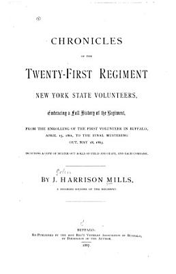 Chronicles of the Twenty first Regiment New York State Volunteers PDF