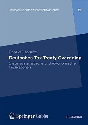 Deutsches Tax Treaty Overriding PDF