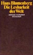 Die Lesbarkeit der Welt PDF