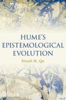 Hume s Epistemological Evolution PDF