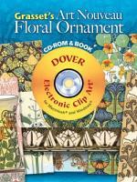 Grasset's Art Nouveau Floral Ornament CD-ROM and Book