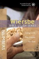 The Wiersbe Bible Study Series  Numbers PDF