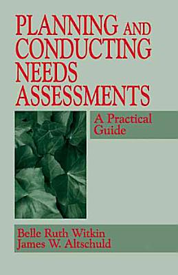 Planning and Conducting Needs Assessments PDF