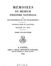 Annales du museum national d'histoire naturelle, par les professeurs de cet etablissement. Ouvrage orne de gravoures: Volume79