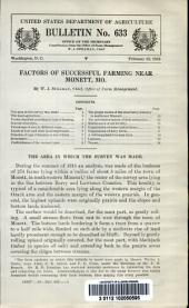 Factors of successful farming near Monett, Mo: Volumes 626-650