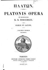 Platon: Volume 1