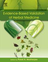 Evidence Based Validation of Herbal Medicine PDF