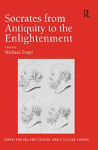 Socrates from Antiquity to the Enlightenment PDF