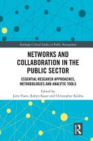 Networks and Collaboration in the Public Sector PDF
