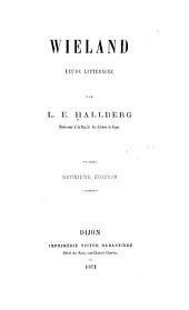 Wieland: étude littéraire