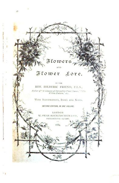 Download Flowers and Flower Lore Book