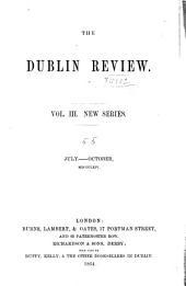 The Dublin Review: Volume 3; Volume 55