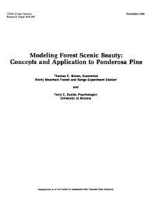 Modeling Forest Scenic Beauty PDF